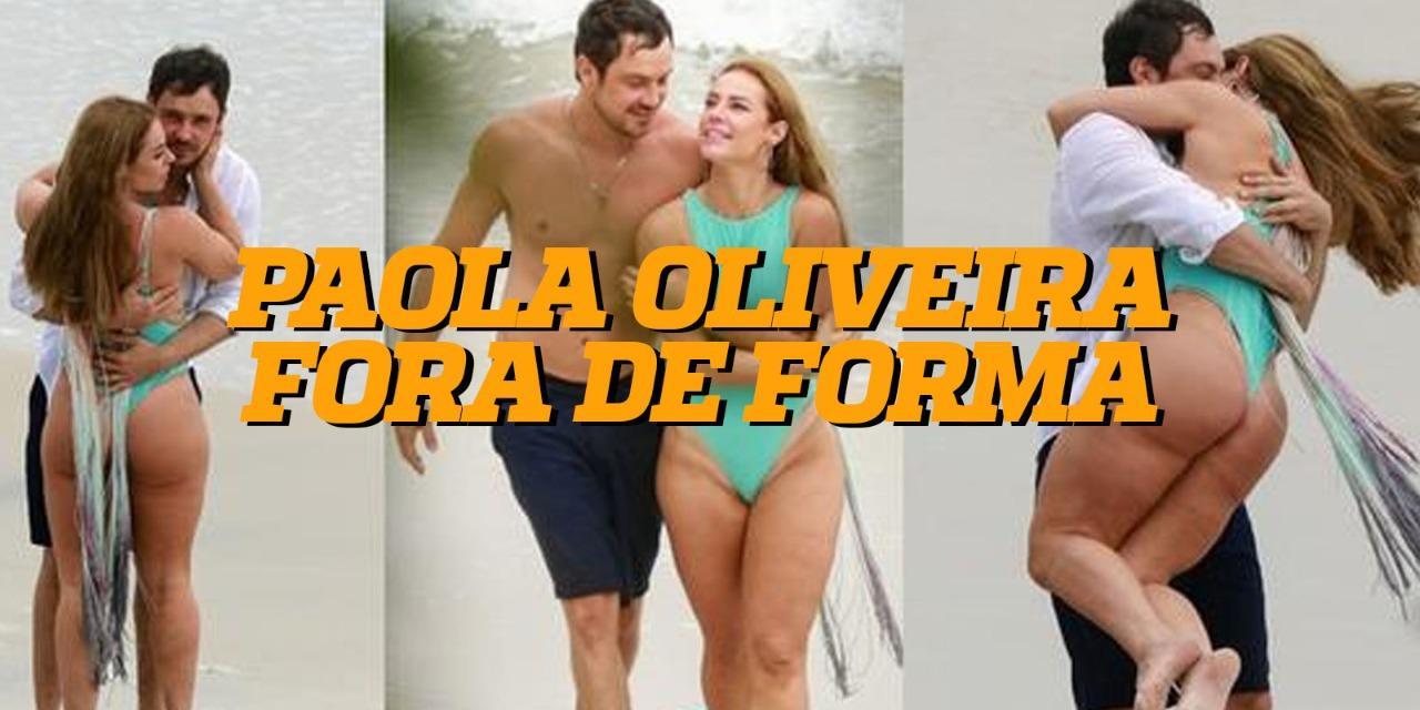 Paola Oliveira fora de forma